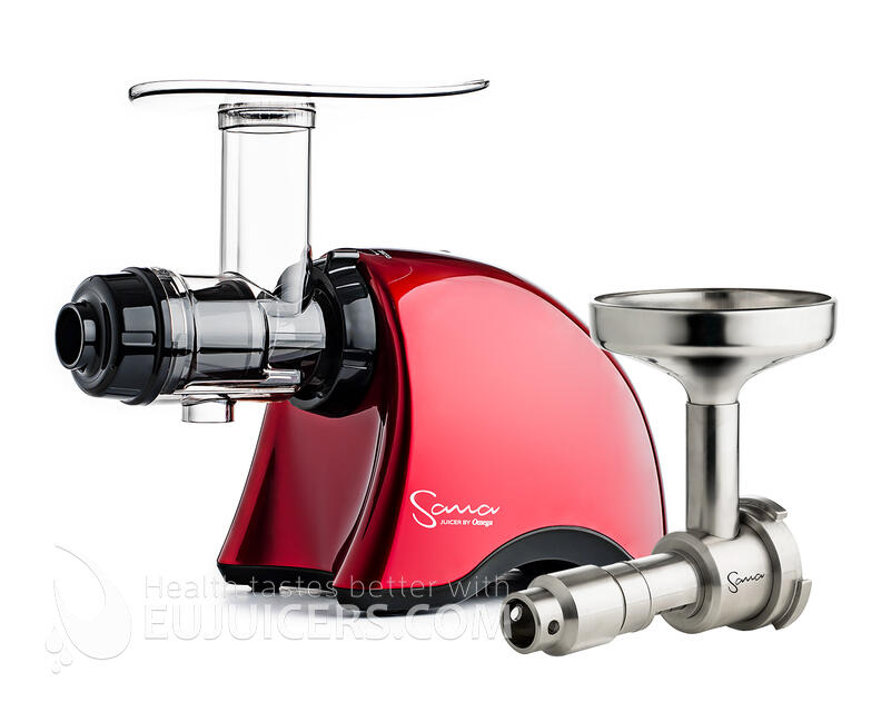 Sana EUJ 707 red + Sana EUJ-702 Oil Extractor