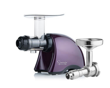 Sana Juicer EUJ-707 Purple Plum + Oil Extractor Sana EUJ-702